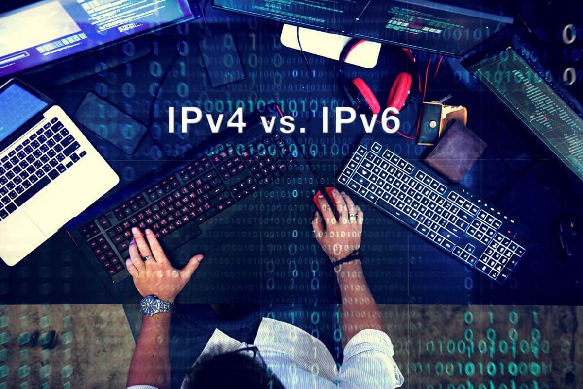 ipv4 vs ipv6 adoption
