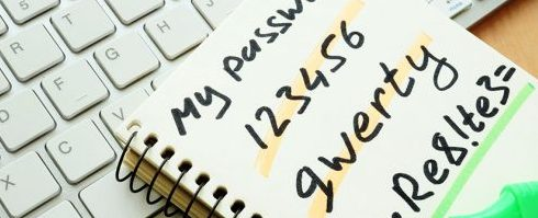 Strong Passwords are one of the best ways to start