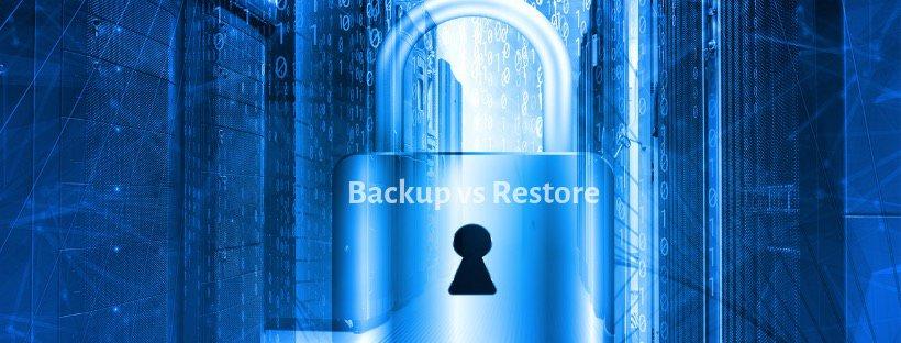 bare metal backup vs restore