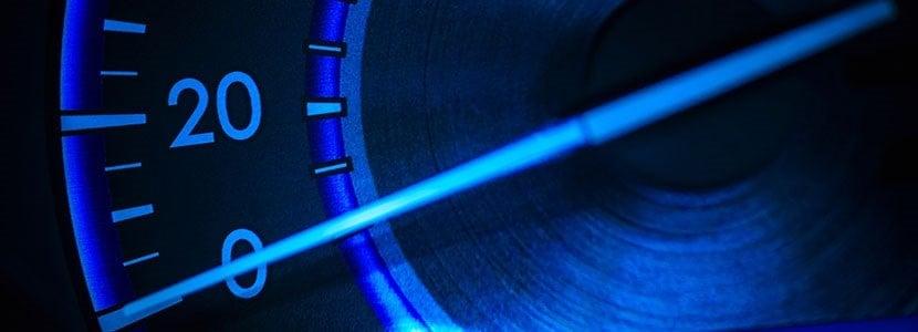 speedometer representing wordpress speed optimization