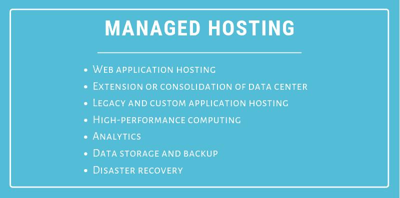 managed web hosting advantages