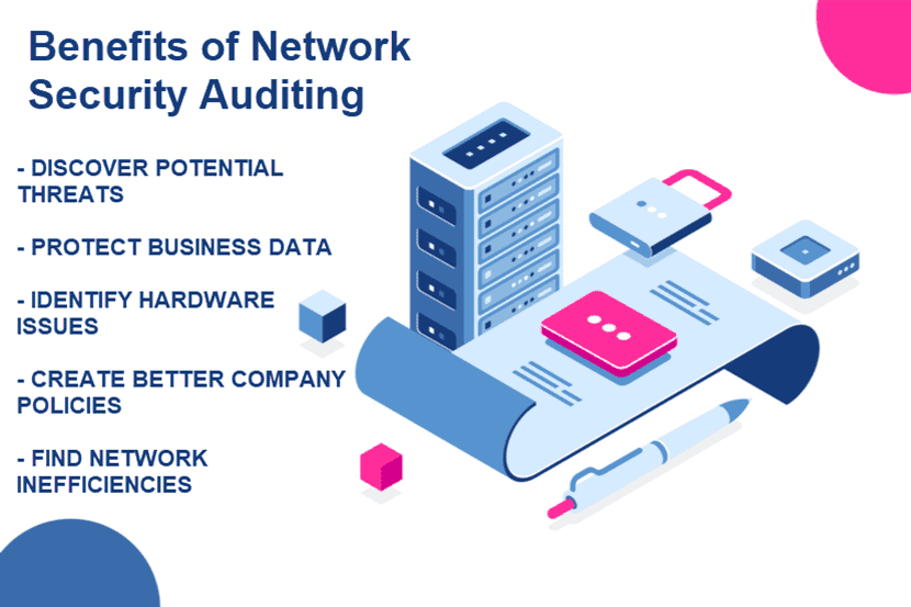 Benefits of a network security audit
