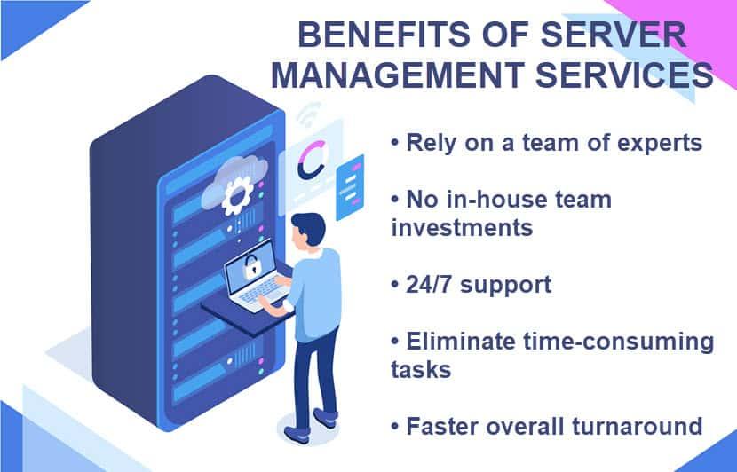 Benefits of server management