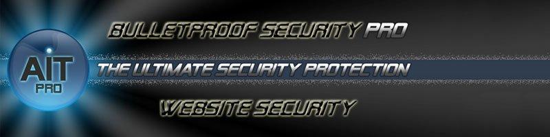 AIT pro security for wordpress website
