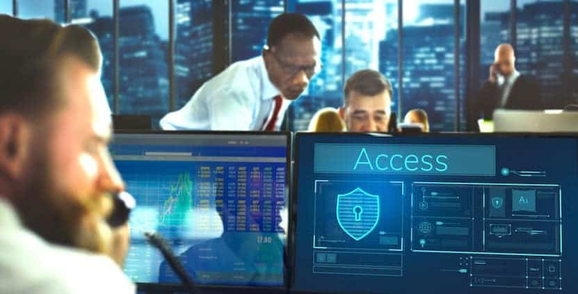 management of security at a data center