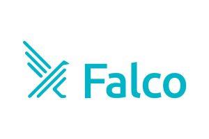 Falco logo.