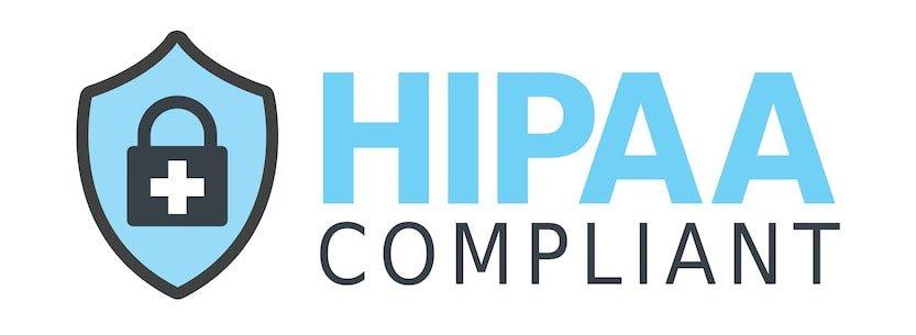 logo for the HIPAA compliant shield