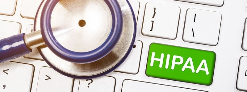 medical professional checking If Gmail HIPAA Compliant