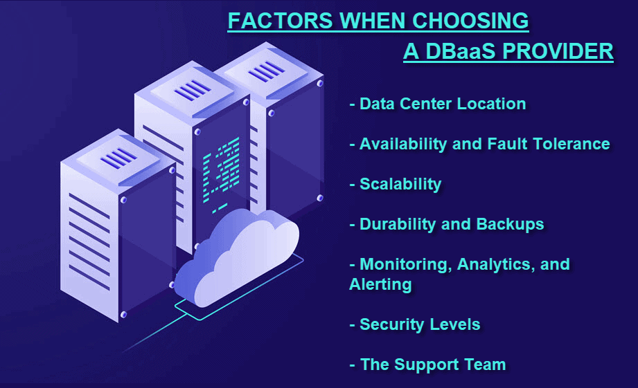 How to choose a DBaaS provider