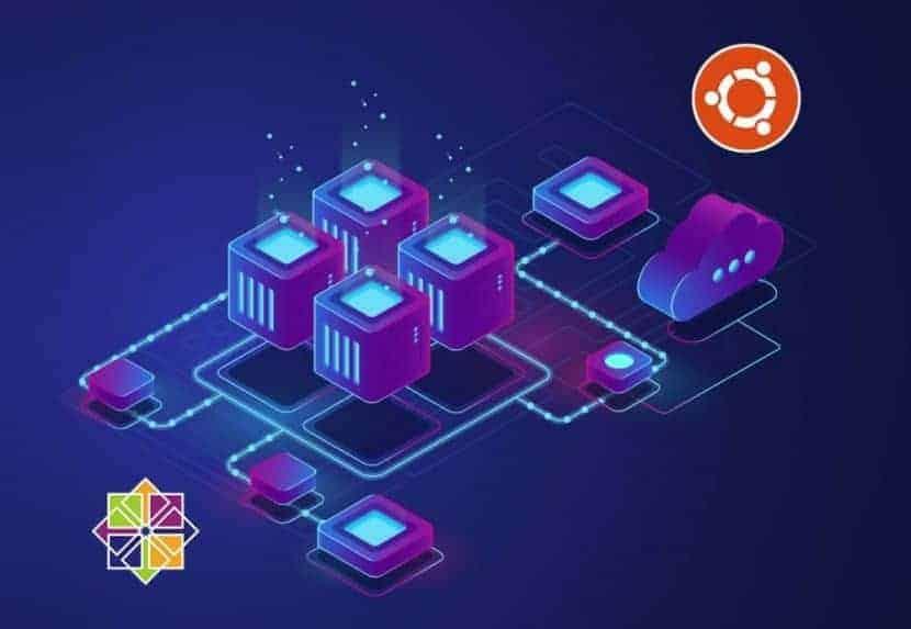 centos and ubuntu logos