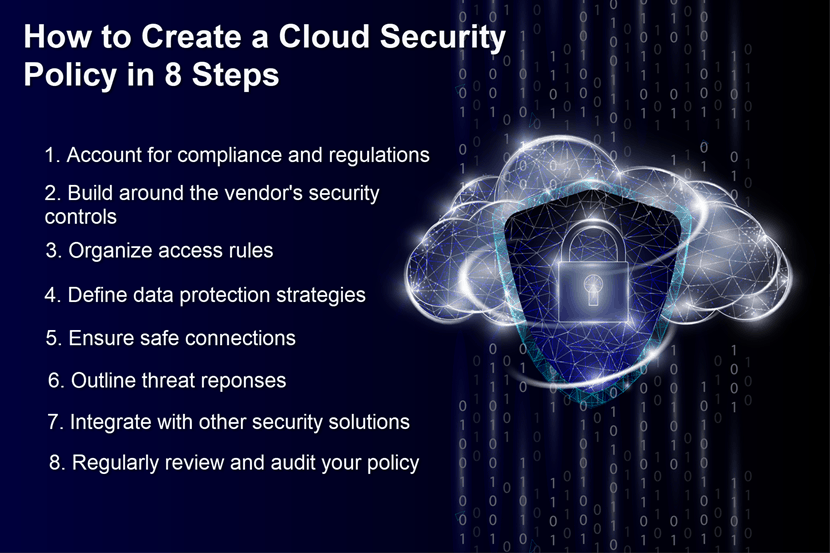 How to create a cloud security policy