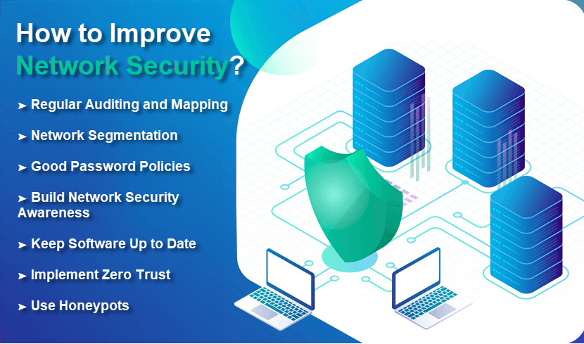 How to improve network security?