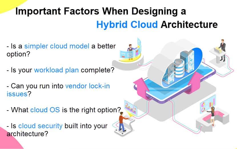 Hybrid cloud architecture deciding factors