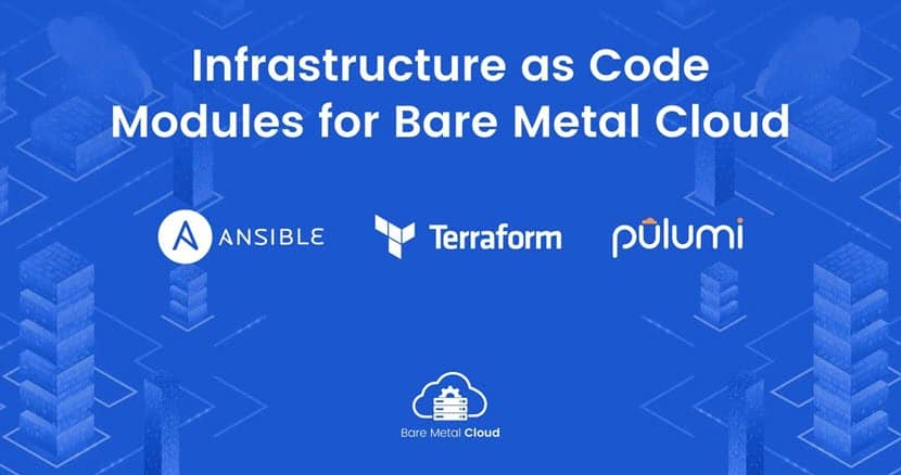Infrastructure as code modules for BMC.