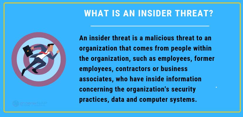 definition of an insider threat