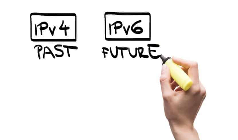 the past and future of ipv4 and ipv6