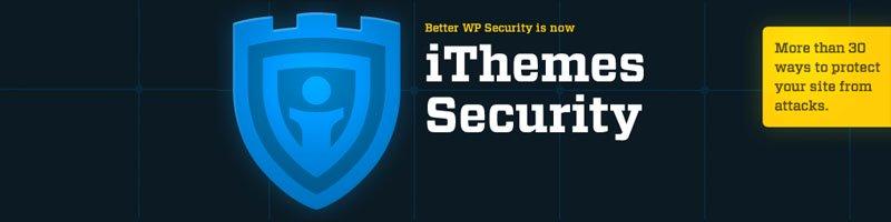 Ithemes wordpress security