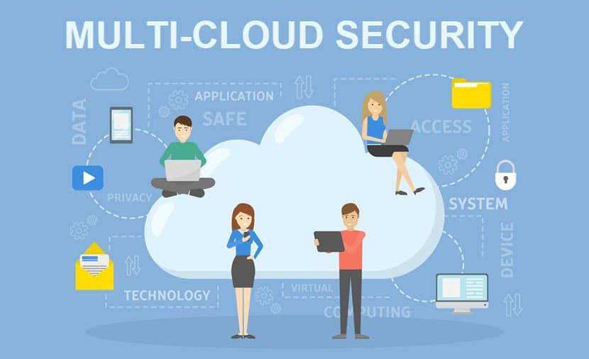 Multi cloud security