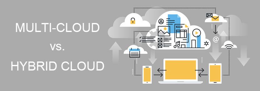 Multi vs hybrid cloud (comparison)