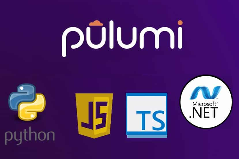 A list of software languages supported by Pulumi.
