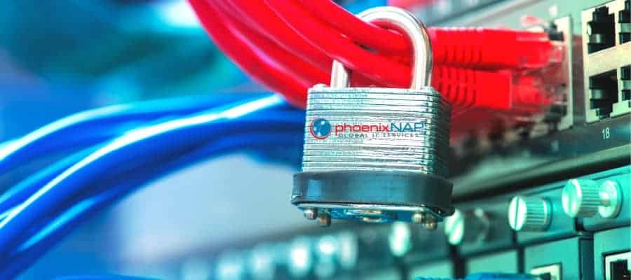 a secure protected web server