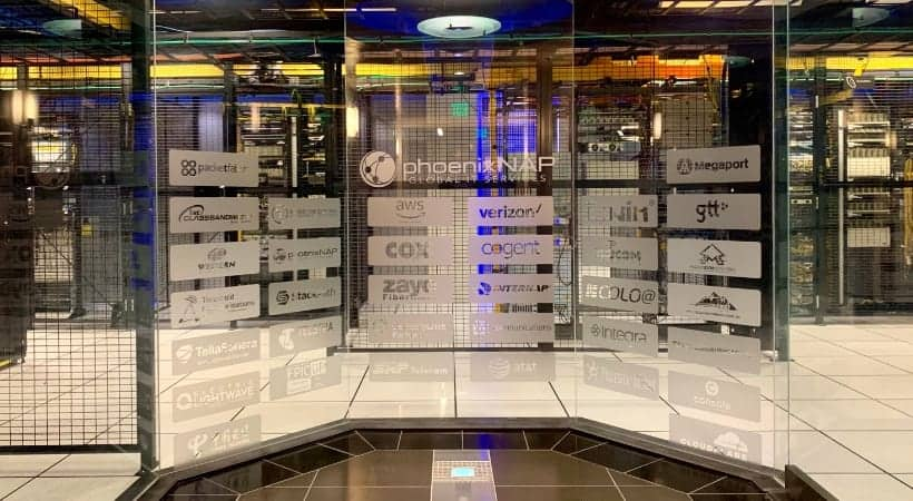 secure entry point for data center operations