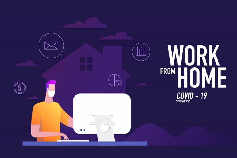 working from home cybersecurity for employees