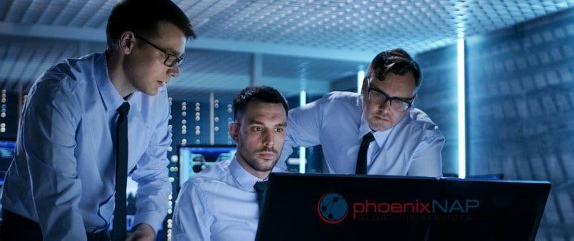 DevSecOps team working on security