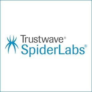SpiderLabs by Trustwave logo.