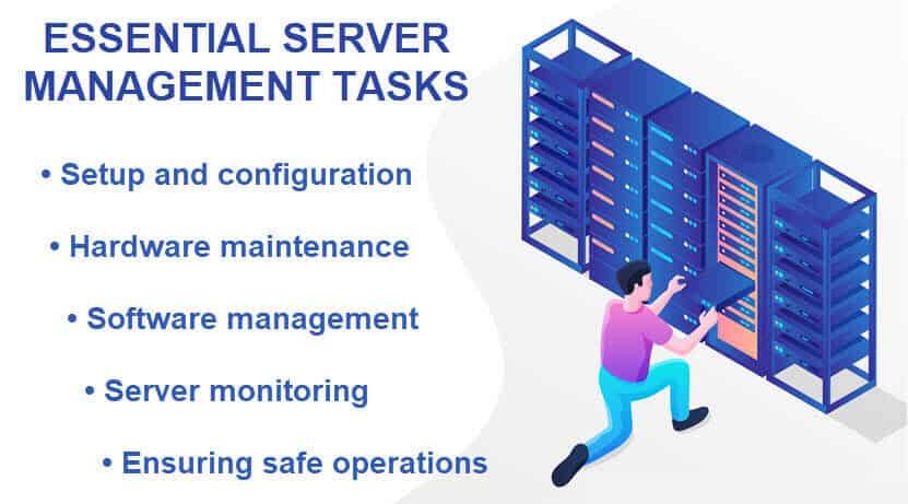 Server manager tasks