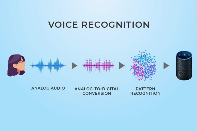 diagram of voice recognition