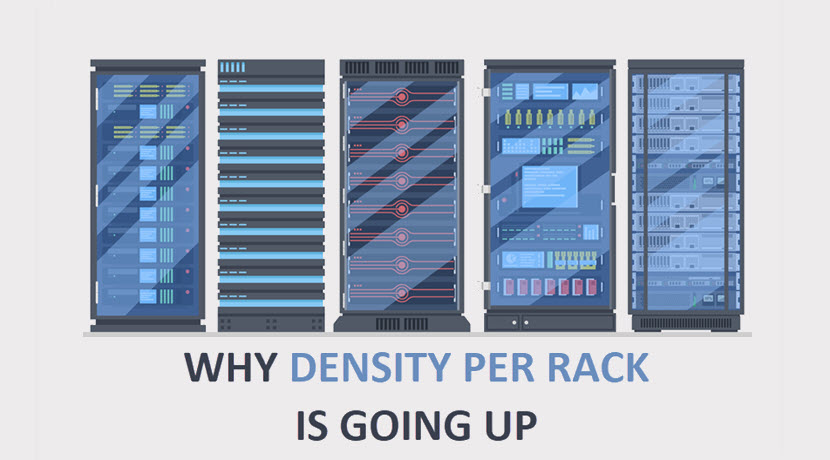 Why density per rack is going up