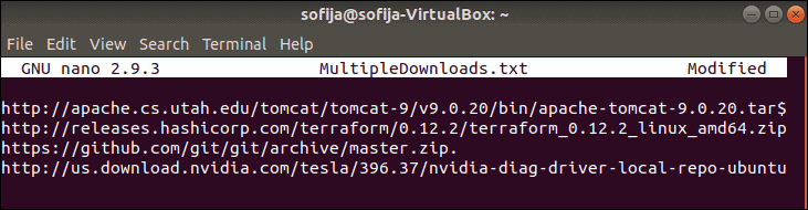 download-multiple-files-using-wget
