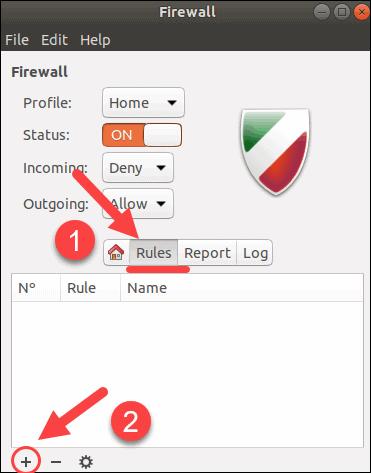 Add firewall rules on Ubuntu.