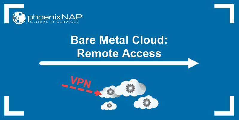 Bare metal cloud remote access.