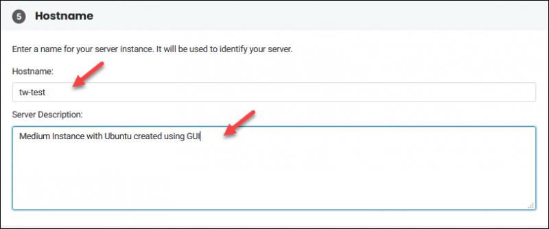 BMC specify hostname step