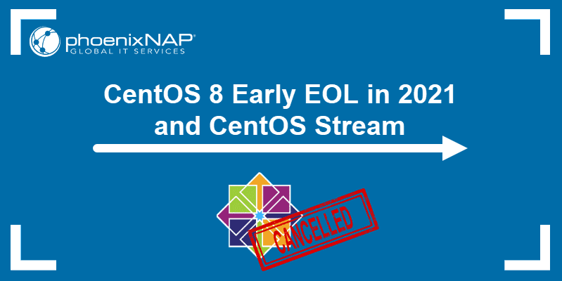 CentOS 8 Early EOL and CentOS Stream
