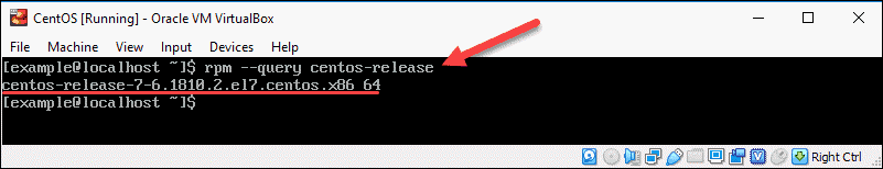 check query release package with rpm