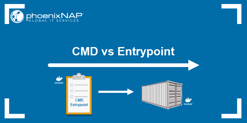 What is the difference between CMD and Entrypoint?