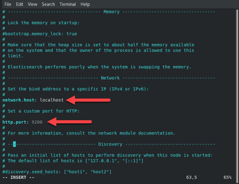 How to configure Elasticsearch on CentOS 8.