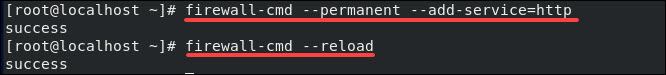 Create a firewall rule to allow HTTP traffic.