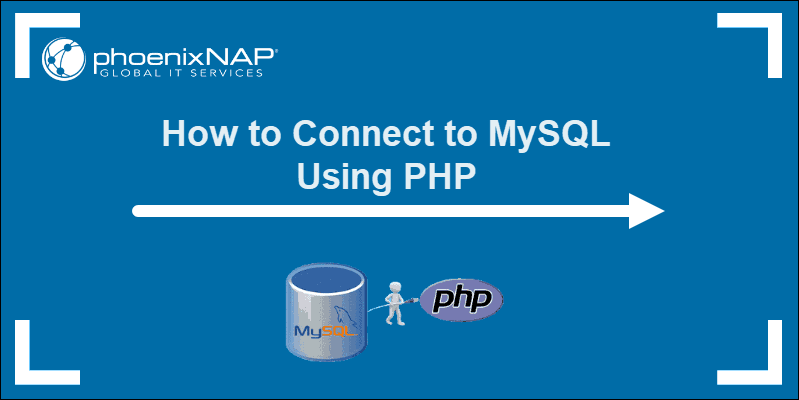 header image how to connect to mysql using php