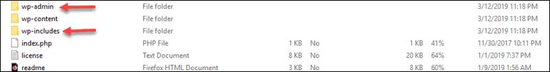corrupted-wordpress-core-fix