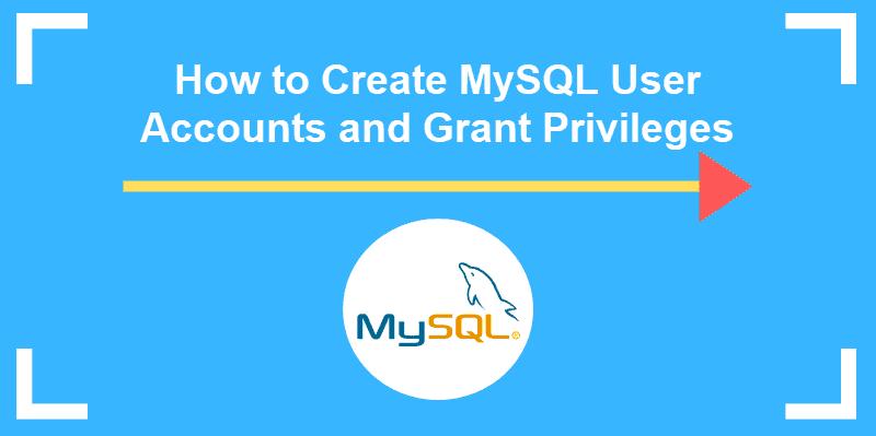 tutorial on mysql create user and grant privileges