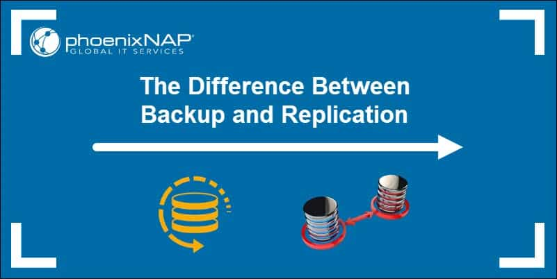 A detailed comparison of Backup vs Replication.