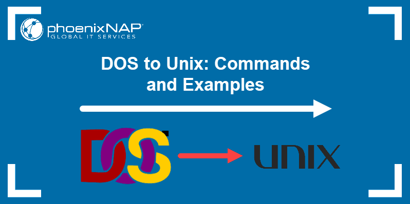 Guide on how to transfer DOS to UNIX files.