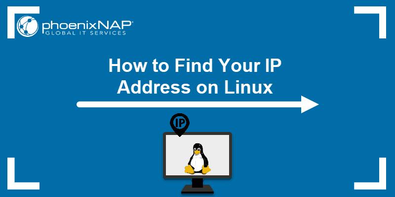 Tutorial on how to find your IP address on Linux.
