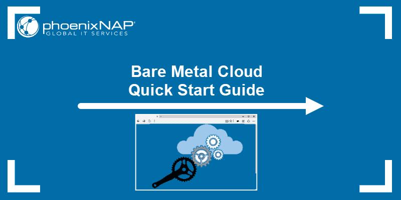 BMC portal quick start guide.