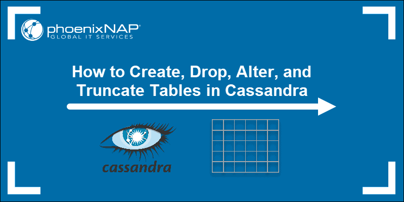 How to Create Cassandra Tables