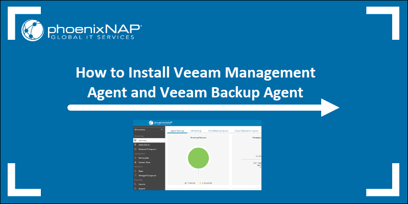 How to install Veeam Availability Console Agents